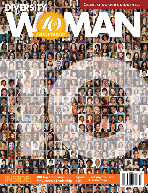 Diversity Woman magazine cover
