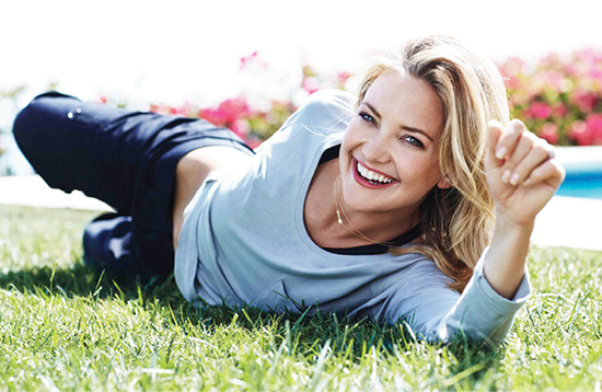 efe70a5f2d Actress Kate Hudson's clothing brand, Fabletics, was born from her love of  movement. Begun in 2013, it's a line of accessibly priced activewear, ...