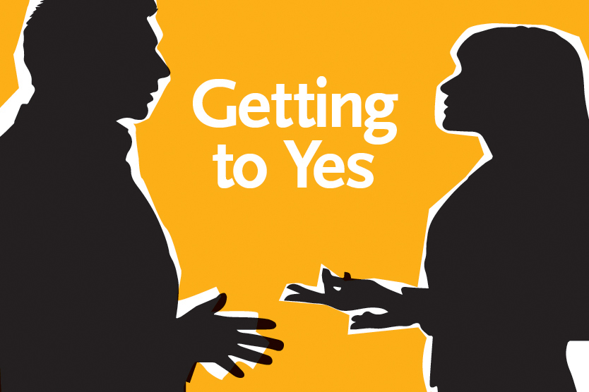 Anatomy of ... a Negotiation: Getting to Yes